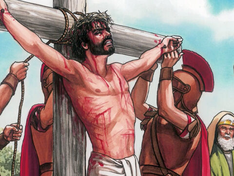 Then Jesus said, 'Father forgive them for they do not know what they are doing.' – Slide 4