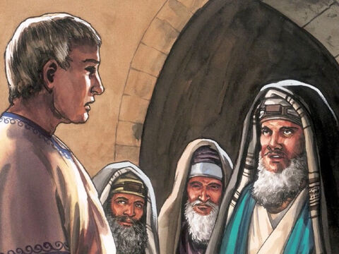 """Then the chief priests of the Jews said to Pilate, 'Do not write """"the King of the Jews"""" but rather """"this man said I am the King of the Jews""""'. Pilate answered, 'What I have written, I have written.' – Slide 11"""