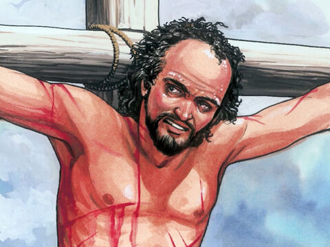 Then he said, 'Jesus, remember me when you come into your kingdom.' – Slide 5