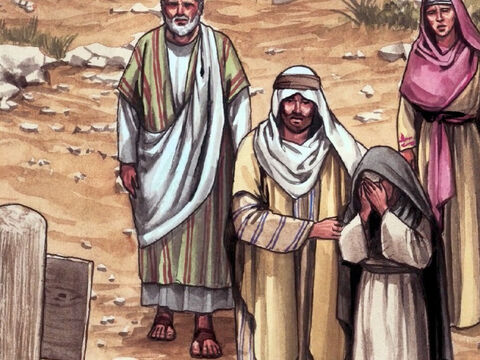 Then He said to His disciple, 'Look, here is your mother.' From that very time, the disciple took her into his own home. – Slide 9