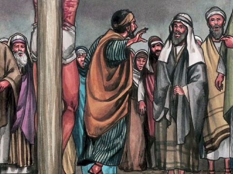 When some of the bystanders heard it, they said, 'Listen, He is calling for Elijah.' – Slide 3