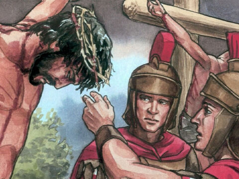 But when they came to Jesus and saw that He was already dead, they did not break His legs. – Slide 4