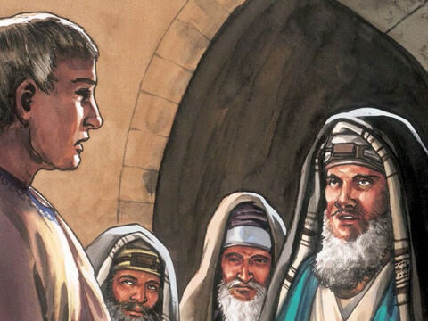 Pilate said to them, 'Take a guard of soldiers and make it as secure as you can.' – Slide 5