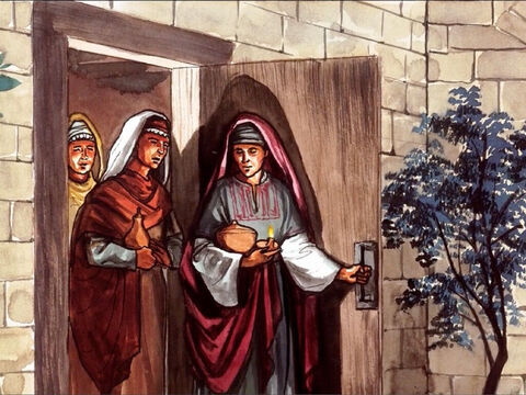 When the Sabbath was over, Mary Magdalene, Mary the mother of James and Salome ... – Slide 4