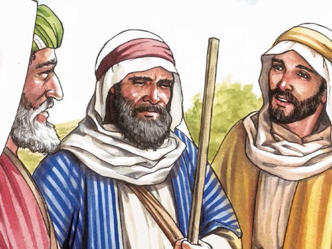 Then one of them, named Cleopas, answered Him, 'Are you the only visitor to Jerusalem who doesn't know the things that have happened there in these days?' Jesus said to them, 'What things?' – Slide 5