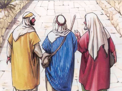'We had hoped that He was the one who was going to redeem Israel. It is now the third day since these things happened. – Slide 8