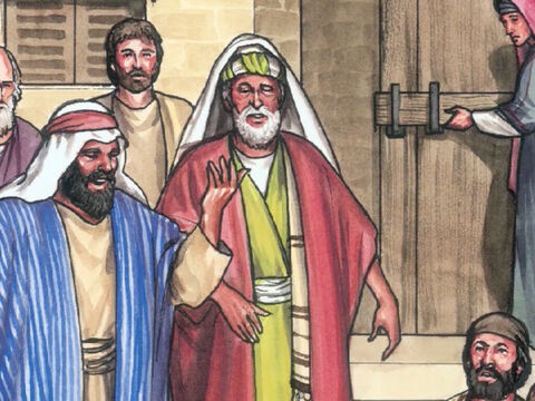 They found the eleven and those with them gathered together and saying, 'The Lord has really risen, and has appeared to Simon!' – Slide 26