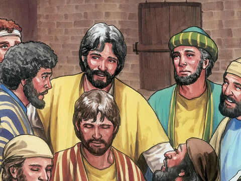 Now Thomas, one of the twelve disciples, was not with them. – Slide 6
