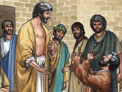 Jesus said to him, 'You believed because you have seen me. Blessed are the people who have not seen Me and yet have believed. – Slide 12
