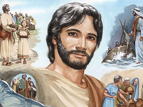Now Jesus did many other miraculous signs which are not recorded in this book. But these are recorded so that you might believe that Jesus is the Christ, the Son of God and that by believing you might have life in His name. – Slide 13