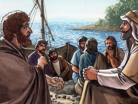 Jesus said a third time, 'Simon, son of John, do you love me?' <br/>Peter was distressed that Jesus asked him a third time, 'Do you love me?' and said, 'Lord, you know everything. You know that I love you.' – Slide 15
