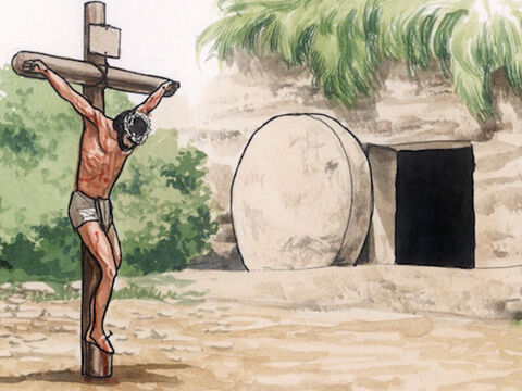 … and said to them, 'It is written that the Christ would suffer and would rise from the dead on the third day … – Slide 2
