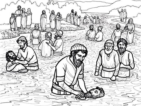 Those who accept the message of the gospel are baptised. Acts 2:41 – Slide 2