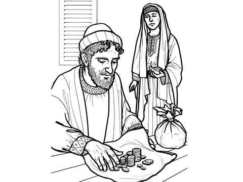 Ananias and Sapphira try to deceive people about their giving. Acts 5:1-11 – Slide 5