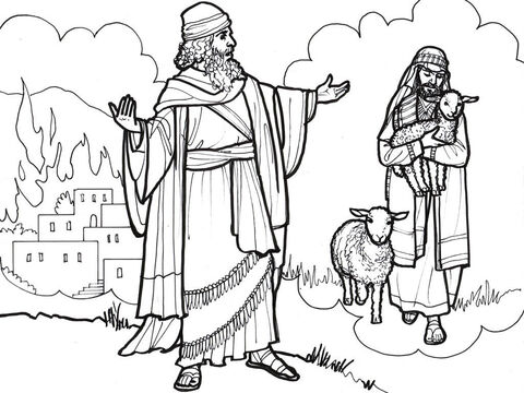 Ezekiel prophecies about the coming destruction of Jerusalem and the promise of a new Shepherd-King who will one day rule over them. – Slide 4