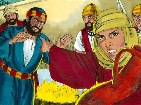 Later, out by the gate, another girl noticed Him and said to those standing around, 'This man was with Jesus.'Again Peter denied it, this time with an oath. 'I don't even know the man,' he said. – Slide 21
