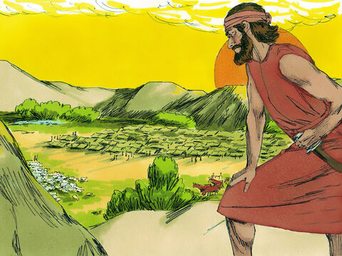 Gideon knew the Lord had chosen him and his small army to deliver the Israelites from the 135,000 enemy soldiers camped in the valley of Jezreel. – Slide 18