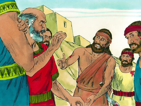 The officials of Succoth replied, 'Catch Zebah and Zalmunna first, and then we will feed your army.' Gideon replied, 'When the Lord gives me victory I will return to punish you with thorns and briars.' When he arrived in Penielhe again asked for food, but he got the same answer. Gideon retorted, 'After I return in victory, I will tear down this tower.' – Slide 3