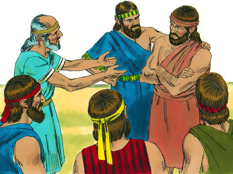 The Israelites said to Gideon, 'Be our ruler! You have rescued us from Midian.' 'I will not rule over you, nor will my son,' Gideon replied, 'The Lordwill rule over you!' – Slide 7