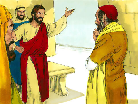 'You are right,' Jesus replied; 'do this and you will live.' The teacher of the Law then asked Jesus, 'Who is my neighbour?' Jesus answered him by telling this parable. – Slide 4