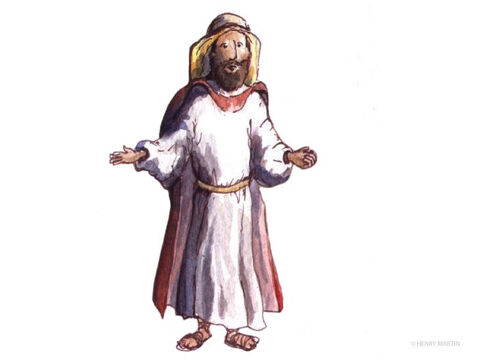 In the morning he took out two silver coins and gave them to the innkeeper. 'Take good care of him' he said. 'If it costs any more, put it on my bill. I'll pay you on my way back.' Jesus then asked, 'So which of these three men do you think was neighbour to the man who was attacked the thieves?' – Slide 7