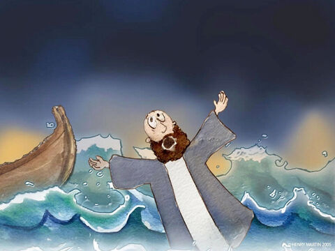… and he began to sink! – Slide 12