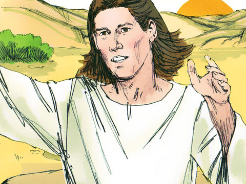'Hagar, where have you come from, and where are you going?' the angel asked. – Slide 5