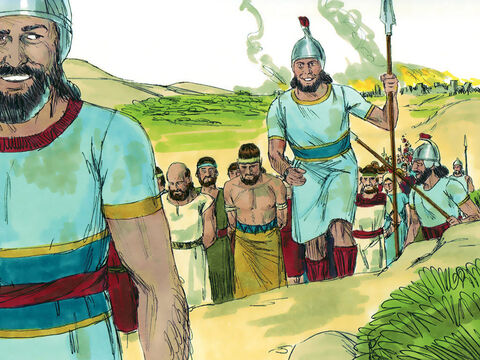 The Assyrians laid siege to Samaria and two years later captured the city. The inhabitants were led back to Assyria as captives just as God had warned. – Slide 8
