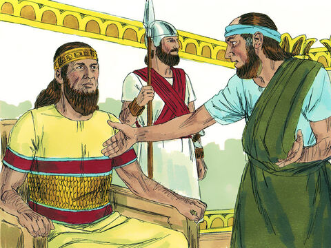 Isaiah the prophet had a message from the Lord for Hezekiah, 'The King of Assyria will not enter the city or build a siege ramp against it. – Slide 18