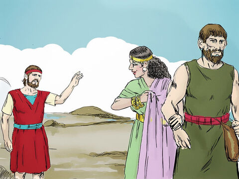 Gomer was not a faithful wife to Hosea and went off to live with another man. – Slide 6