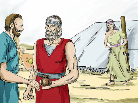 God told Hosea, 'Although Gomer is loved by another man and is an adulteress, go and show your love to your wife again, Love her as the Lord loves the Israelites, though they turn to other gods.' Hosea gave the man Gomer was living with 15 shekels of silver and some barley (the price of a slave) to release his wife. – Slide 11