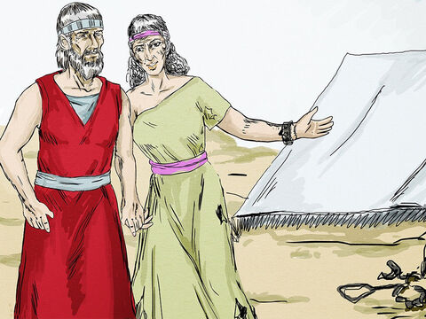 Hosea told Gomer, 'You are to live with me again. You must be a loyal wife and I will take care of you.' – Slide 12