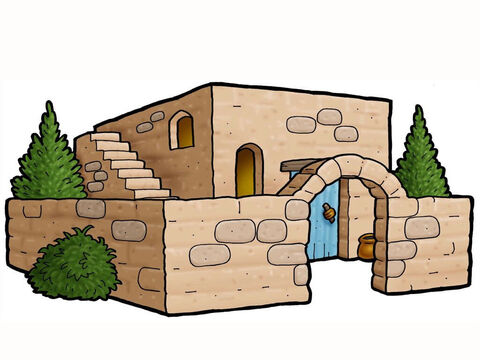 Middle-eastern house. – Slide 1