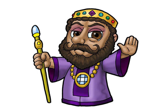Herod Antipas. This picture can be used to represent any Ruler in the Bible. – Slide 3