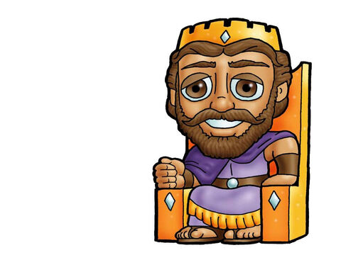 King David. This picture can be used to represent any King in the Bible. – Slide 5