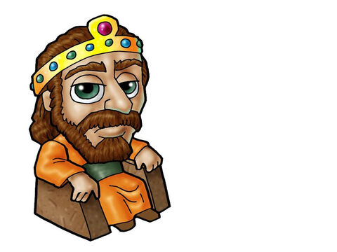 King Saul. This picture can be used to represent any King in the Bible. – Slide 6