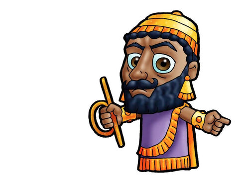 King Nebuchadnezzar. This picture can be used to represent any Mesopotamian King in the Bible. – Slide 7