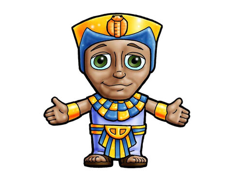 Joseph. This picture can be used to represent any Egyptian ruler in the Bible. – Slide 10