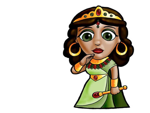 Queen of Sheba. This picture can be used to represent any Queen in the Bible. – Slide 18
