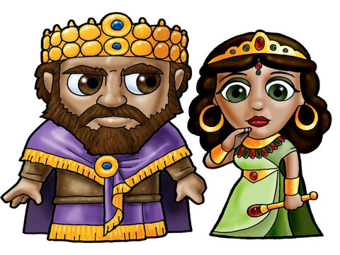 King and Queen. This picture can be used to represent any King and Queen in the Bible. – Slide 21