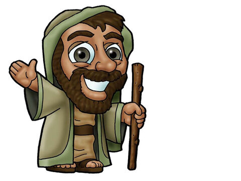 Joseph. Can be used to represent almost any male Bible character. – Slide 10