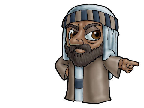 Nabal. Can be used to represent almost any male Bible character. – Slide 13
