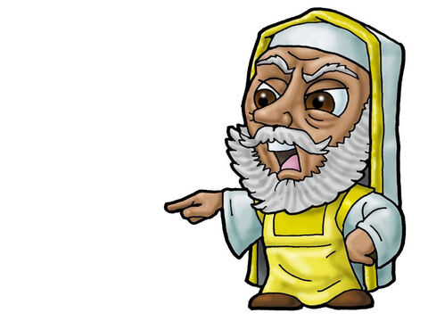 Pharisee. Can be used to represent almost any religious leader. – Slide 17