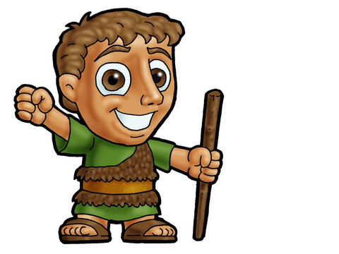 Shepherd. This picture can be used to represent almost any young male character in the Bible. – Slide 1