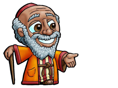 Jacob. This picture can be used to represent almost any older male character in the Bible. – Slide 10