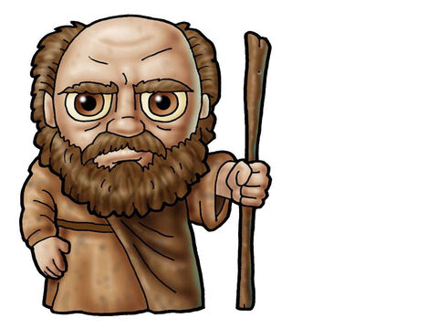 Samuel. This picture can be used to represent almost any older male character in the Bible. – Slide 16