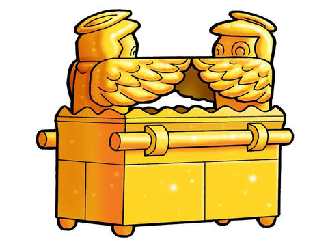Golden Ark of Covenant. – Slide 4