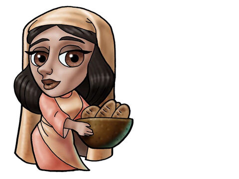Abigail. This figure can represent almost any female character in the Bible. – Slide 3