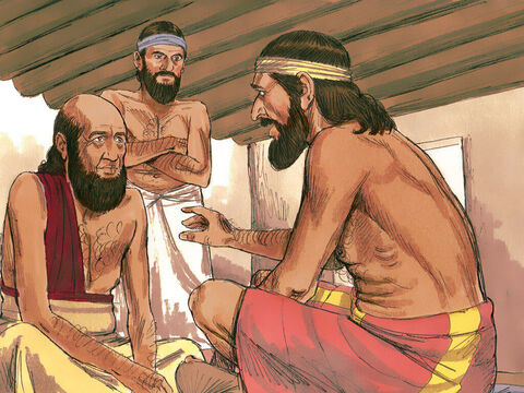 Abraham's servant would not eat until he had told Rebekah's family why he had come and how God had answered his prayer. Rebekah's father, Bethuel, answered, 'This is from the Lord. Here is Rebekah, take her and go, and let her become the wife of Isaac, as the Lordhas directed.' – Slide 13