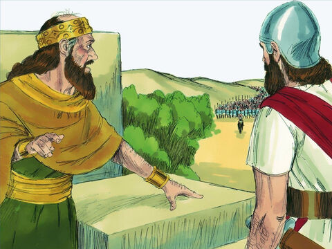 After that, Pekah was killed by Hoshea, who then became king. During his reign the new king of Assyria, Shalmaneser, attacked Israel. – Slide 9